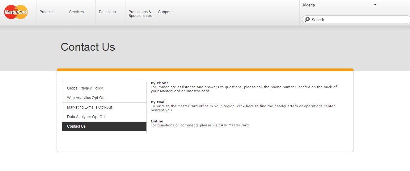 MasterCard Customer Service Number 10 Phone Number