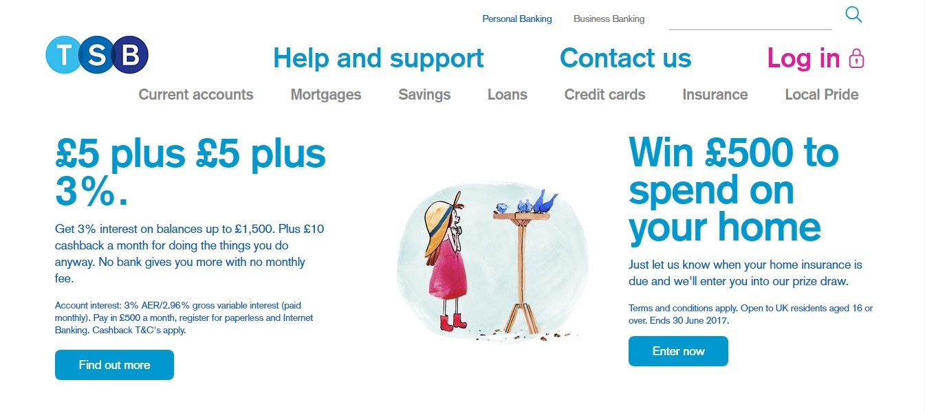 Tsb Customer Service 0844 306 9125 Phone Number Uk